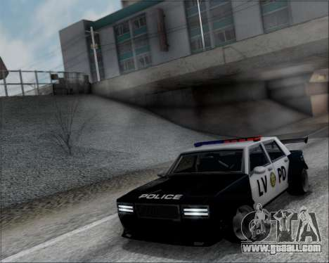 LVPD Drift Project for GTA San Andreas back view