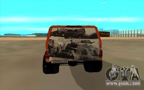 Toyota Land Cruiser for GTA San Andreas right view