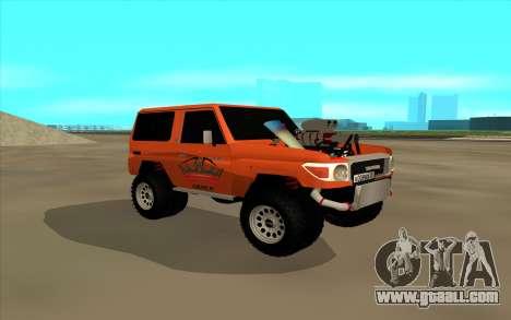 Toyota Land Cruiser for GTA San Andreas