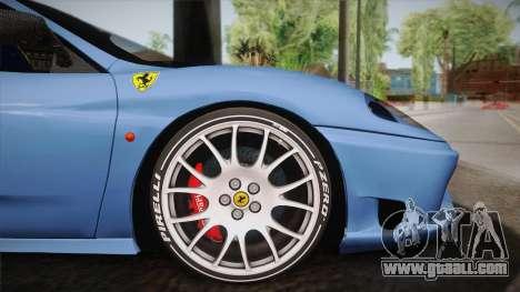 Ferrari 360 Challenge Stradale v3.2 for GTA San Andreas