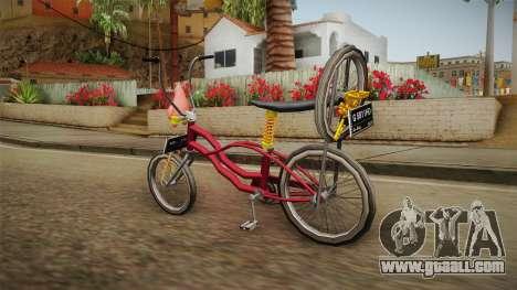 Bike Lowrider Thailook for GTA San Andreas left view