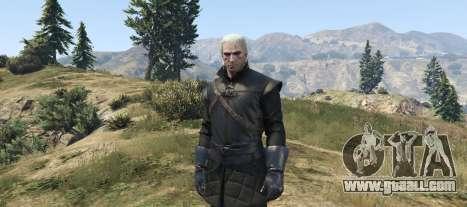 GTA 5 Geralt of Rivia New Moon Gear
