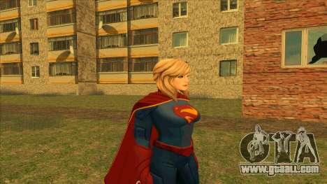 Supergirl Legendary from DC Comics Legends for GTA San Andreas second screenshot