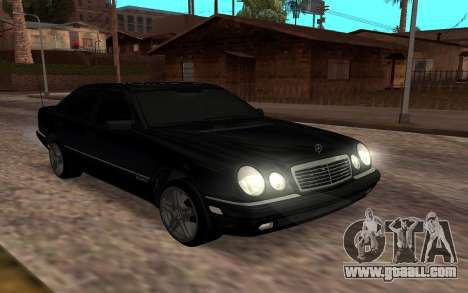 Mersedes-Benz W210 for GTA San Andreas