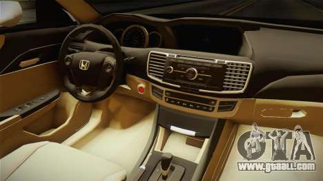 Honda Accord 2015 Sport for GTA San Andreas inner view