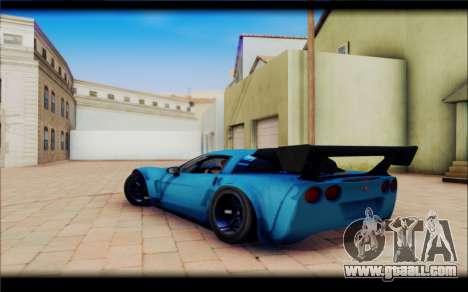 Chevrolet Corvett Z06 for GTA San Andreas