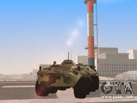 BTR-80 for GTA San Andreas left view
