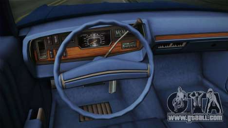 Dodge Polara 1971 for GTA San Andreas inner view