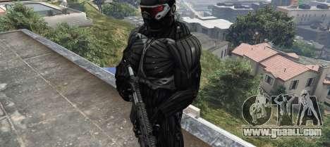GTA 5 Crysis 2 NanoSuit Black second screenshot