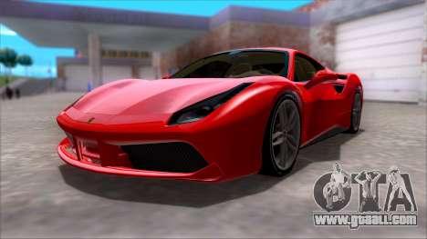 Ferrari 488 for GTA San Andreas
