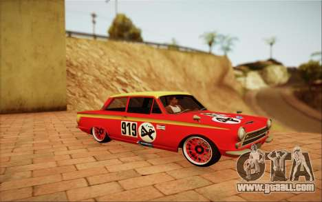 1965 Lotus Cortina for GTA San Andreas