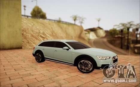 Audi A4 Allroad 2017 for GTA San Andreas