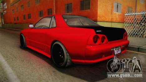 GTA 5 Annis Elegy Retro Custom v2 IVF for GTA San Andreas left view