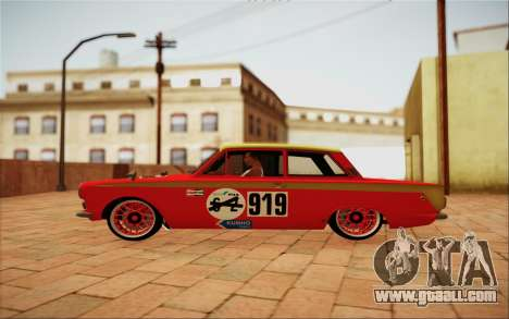 1965 Lotus Cortina for GTA San Andreas left view