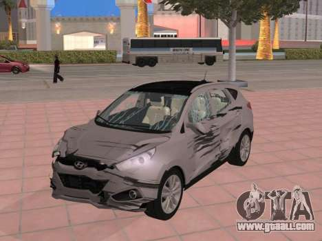 Hyundai ix35 2.0 CRDi 2010 for GTA San Andreas back view