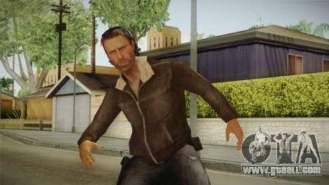 The Walking Dead: No Mans Land - Rick for GTA San Andreas
