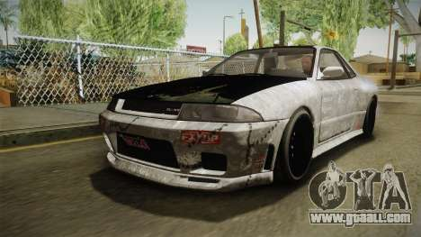 GTA 5 Annis Elegy Retro Custom v2 for GTA San Andreas upper view