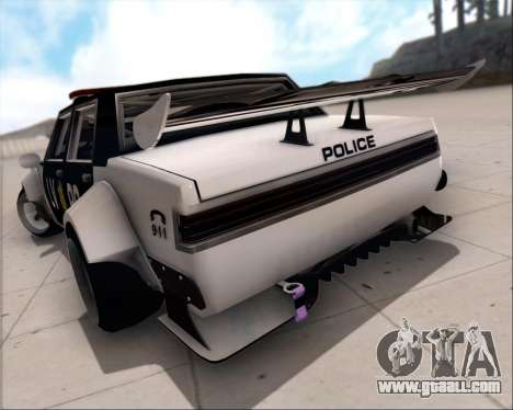 LVPD Drift Project for GTA San Andreas upper view