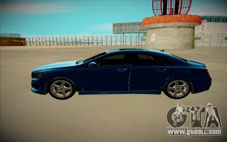Mercedes-Benz CLA 200 for GTA San Andreas back left view