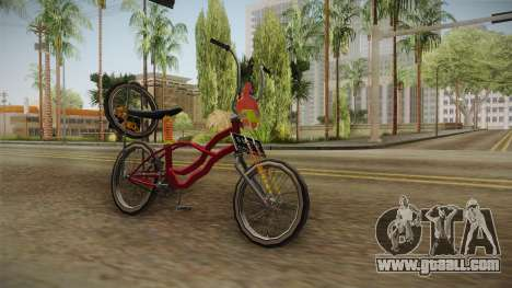 Bike Lowrider Thailook for GTA San Andreas right view