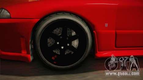 GTA 5 Annis Elegy Retro Custom v2 IVF for GTA San Andreas back view