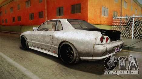 GTA 5 Annis Elegy Retro Custom v2 IVF for GTA San Andreas bottom view