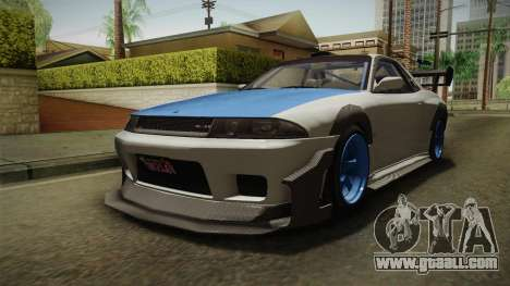 GTA 5 Annis Elegy Retro Custom v2 for GTA San Andreas right view