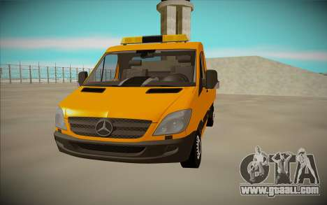 Mercedes-Benz Sprinter W906 for GTA San Andreas right view