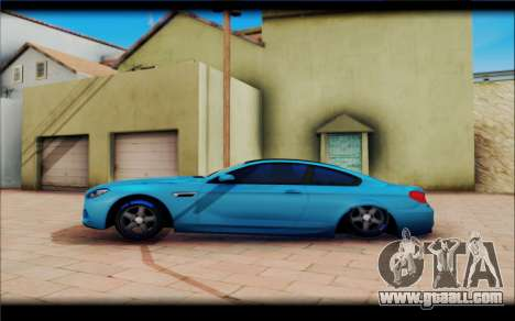 BMW M6 Stance for GTA San Andreas left view