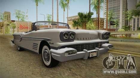 Pontiac Bonneville Hardtop 1958 HQLM for GTA San Andreas