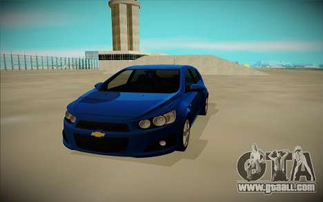 Chevrolet Aveo for GTA San Andreas right view