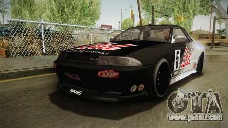 GTA 5 Annis Elegy Retro Custom v2 IVF for GTA San Andreas wheels