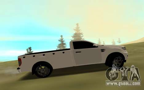 Ford Ranger 2017 for GTA San Andreas left view