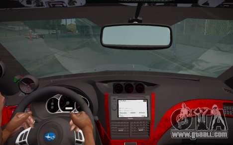 Subaru Impreza WRX STI 2009 TUNED for GTA San Andreas right view
