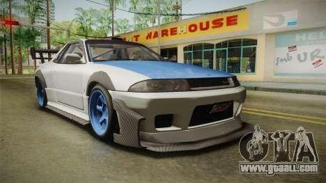 GTA 5 Annis Elegy Retro Custom v2 for GTA San Andreas