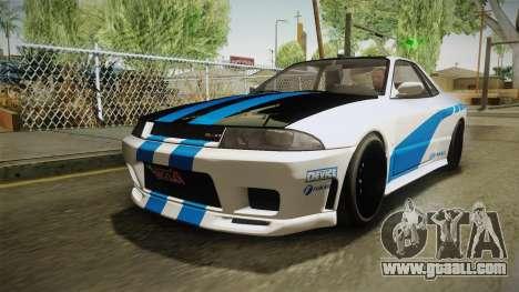 GTA 5 Annis Elegy Retro Custom v2 IVF for GTA San Andreas inner view