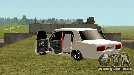 VAZ 2105 for GTA San Andreas upper view