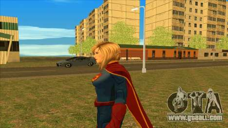 Supergirl Legendary from DC Comics Legends for GTA San Andreas forth screenshot
