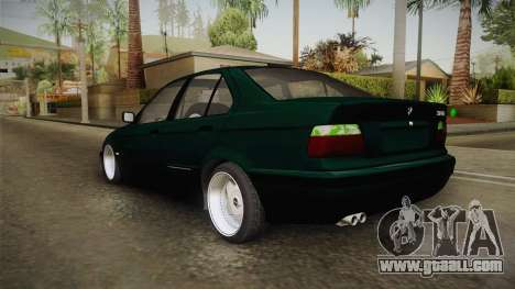 BMW 320i E36 BORBET for GTA San Andreas left view