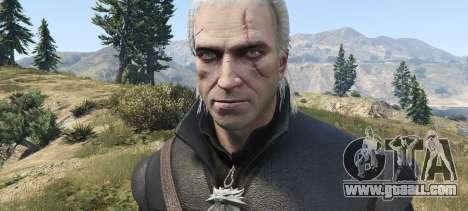 GTA 5 Geralt of Rivia New Moon Gear second screenshot