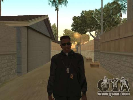 System of a Down Black Hoody v1 for GTA San Andreas second screenshot