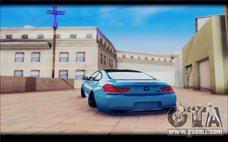 BMW M6 Stance for GTA San Andreas right view