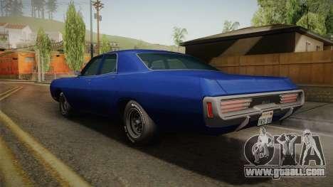 Dodge Polara 1971 for GTA San Andreas left view