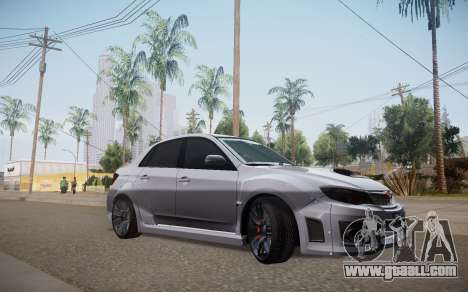Subaru Impreza WRX STI 2009 TUNED for GTA San Andreas