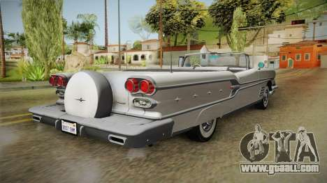 Pontiac Bonneville Hardtop 1958 HQLM for GTA San Andreas right view