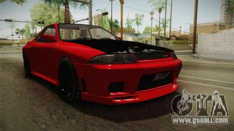 GTA 5 Annis Elegy Retro Custom v2 IVF for GTA San Andreas right view