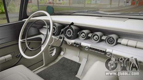 Pontiac Bonneville Hardtop 1958 HQLM for GTA San Andreas inner view