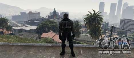 GTA 5 Crysis 2 NanoSuit Black
