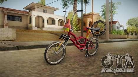 Bike Lowrider Thailook for GTA San Andreas