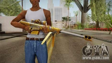 Cross Fire - M82A1 Born Beast Noble Gold for GTA San Andreas third screenshot